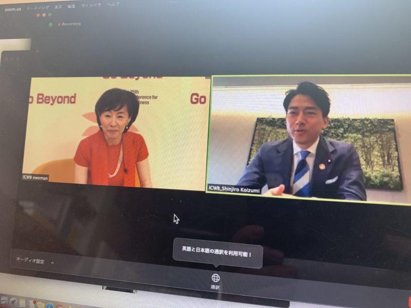 小泉環境大臣「再生可能エネルギーを推進。化石燃料をゼロに」